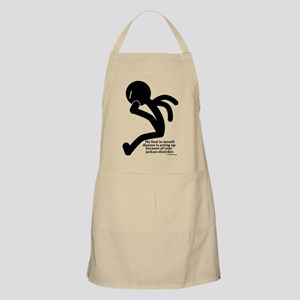 Foot in mouth disease Apron