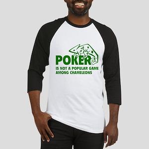 Poker Chameleons Baseball Jersey