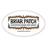 Briar Patch Sticker (Oval)