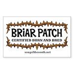 Briar Patch Sticker (Rectangle)