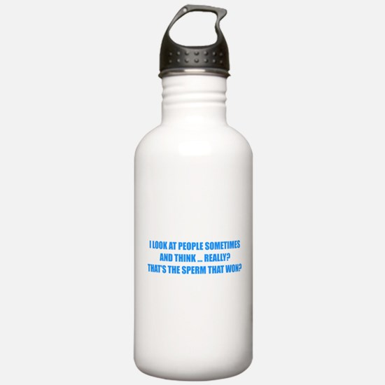 Sperm That Won Water Bottle