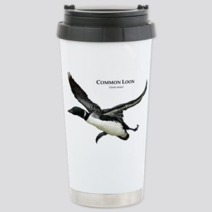 Common Loon Stainless Steel Travel Mug