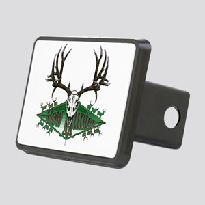 mule deer skull Rectangular Hitch Cover