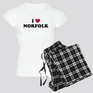 I love Norfolk Virginia Women's Light Pajamas
