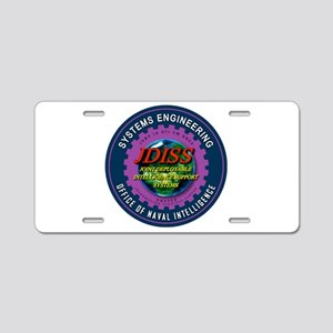JDISS Systems Engineering Aluminum License Plate