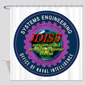 JDISS Systems Engineering Shower Curtain