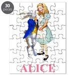 Alice and the White Rabbit Puzzle