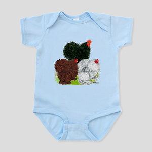 Frizzle Cochin Trio Infant Bodysuit