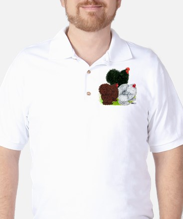 Frizzle Cochin Trio Golf Shirt
