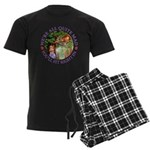 We're All Quite Mad, You'll Fi Men's Dark Pajamas
