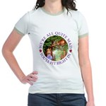 We're All Quite Mad, You'll Fit Jr. Ringer T-Shirt