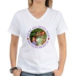 We're All Quite Mad, You'll Women's V-Neck T-Shirt