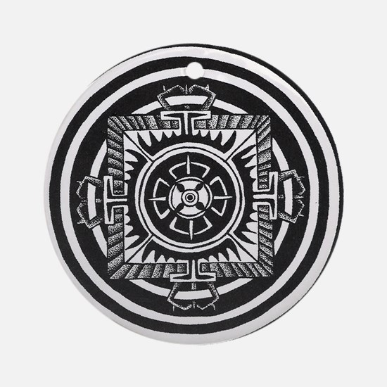 Double dorje Ornament (Round)