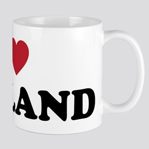I Love Oakland California Mug