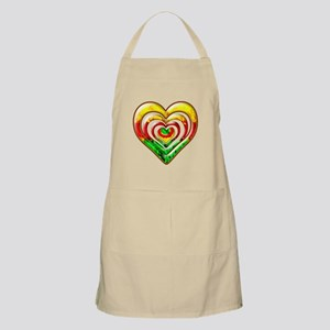 One Love Hearts Apron