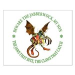 Beware the Jabberwock My Son Small Poster