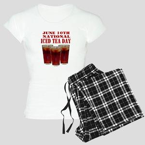 National Iced Tea Day Women's Light Pajamas