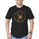 Beware the Jabberwock My Son Men's Fitted T-Shirt