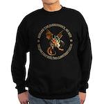 Beware the Jabberwock My Son Sweatshirt (dark)