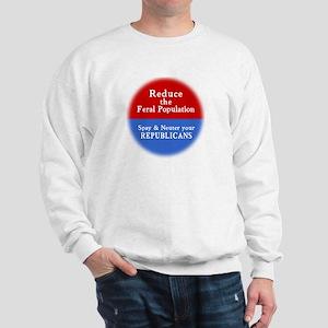 Spay Neuter Republican Sweatshirt