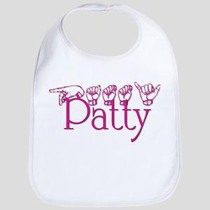Patty-fushia Bib