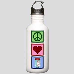 Peace Love Pharmacist Stainless Water Bottle 1.0L