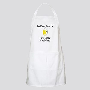Dog Beers Apron