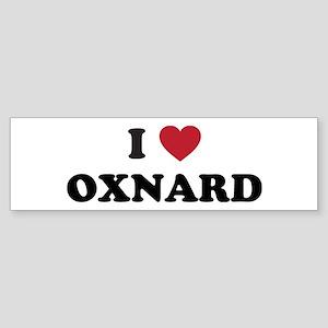 I Love Oxnard California Sticker (Bumper)