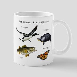 Minnesota State Animals Mug