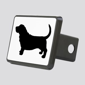 Basset Hound Rectangular Hitch Cover