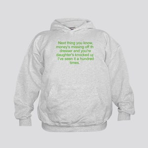 next you know Kids Hoodie