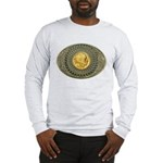Indian gold oval 2 Long Sleeve T-Shirt