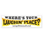 Laughin Place Sticker (Bumper)