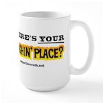 Laughin Place Large Mug