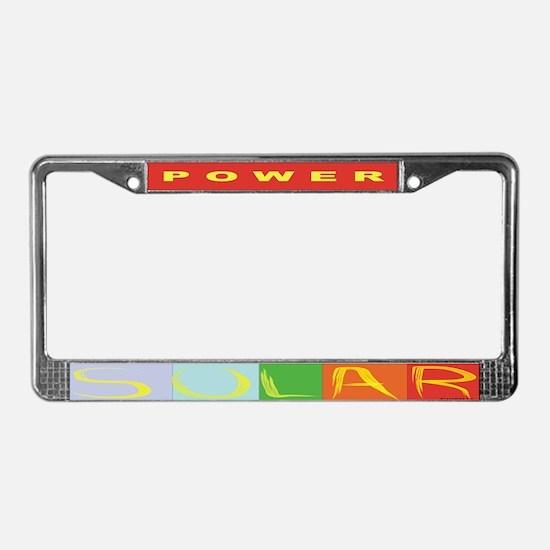 solar power bumper1.png License Plate Frame