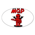 MQP Bass Sticker (Oval 10 pk)