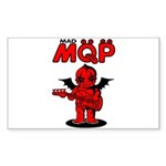 MQP Bass Sticker (Rectangle 10 pk)