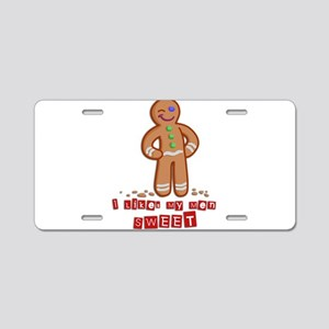 GingerBread Aluminum License Plate