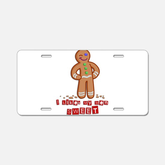 GingerBread.png Aluminum License Plate