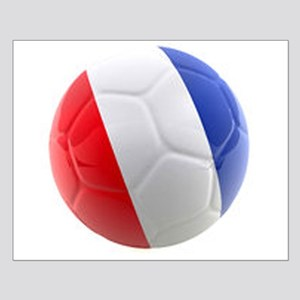 France world cup ball Small Poster