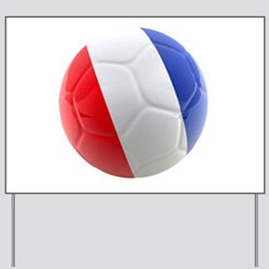 France world cup ball Yard Sign