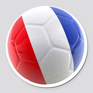 France world cup ball Round Car Magnet