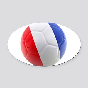 France world cup ball Oval Car Magnet