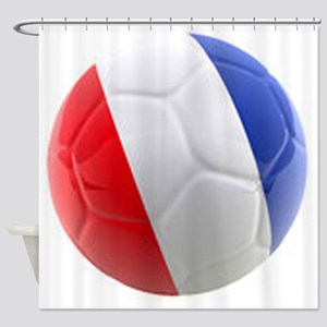 France world cup ball Shower Curtain