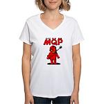 MQP Guitar Women's V-Neck T-Shirt
