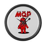 MQP Guitar Large Wall Clock