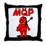 MQP Guitar Throw Pillow