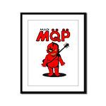MQP Guitar Framed Panel Print