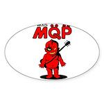 MQP Guitar Sticker (Oval 10 pk)
