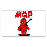 MQP Guitar Sticker (Rectangle 50 pk)